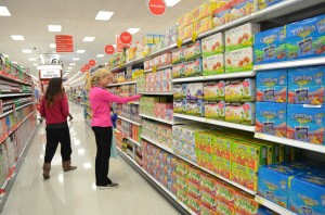 Homewood Target shoppers