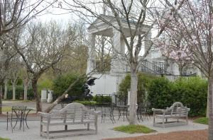 Birmingham Botanical Gardens courtyard
